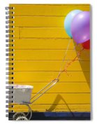 Buggy And Yellow Wall Spiral Notebook
