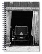 Buggy In The Barn Spiral Notebook