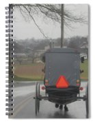 Buggy Ride After The Storm Spiral Notebook