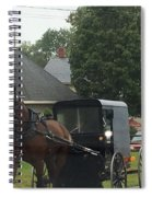 Buggy Travels By Spiral Notebook
