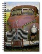 Buick Eight Spiral Notebook
