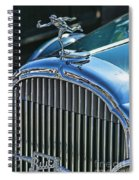 Buick Grill And Hood Ornament Spiral Notebook