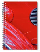 Buick Lasalle Portholes And Fender #3 Spiral Notebook