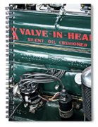 Buick Valve In Head Eight Spiral Notebook