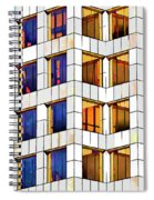 Building Abstract IIid Spiral Notebook