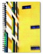 Building Block - Yellow Spiral Notebook
