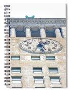 Building Closeup In Manhattan 12 Spiral Notebook