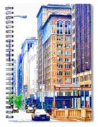Building Closeup In Manhattan 18 Spiral Notebook