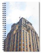 Building Closeup In Manhattan 2 Spiral Notebook