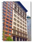 Building Closeup In Manhattan 5 Spiral Notebook