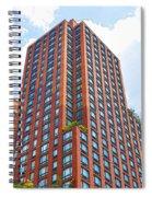 Building Closeup In Manhattan 6 Spiral Notebook