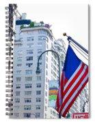 Building Closeup In Manhattan 9 Spiral Notebook