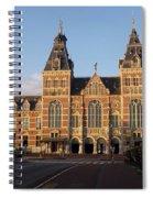 Building Exterior Of Rijksmuseum. Amsterdam. Holland Spiral Notebook