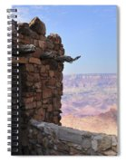 Building On The Grand Canyon Ridge Spiral Notebook