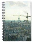Building Paris Spiral Notebook