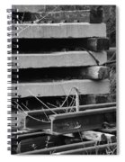 Building Tracks Spiral Notebook