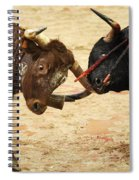 Bull Fight Spiral Notebook