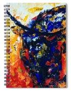 Bull Spiral Notebook