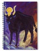 Bull Of Heaven Spiral Notebook