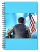 Bull Rider Spiral Notebook