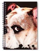 Bulldog Art - Let's Play Spiral Notebook
