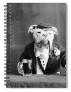 Bulldog, C1905 Spiral Notebook