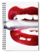 Bullet Lips Spiral Notebook
