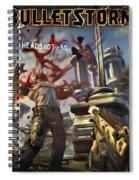 Bulletstorm Spiral Notebook