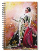Bullfight 24 Spiral Notebook