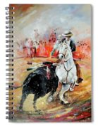 Bullfight 3 Spiral Notebook