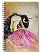 Bullfight 74 Spiral Notebook