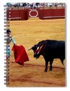 Bullfighting 22 Spiral Notebook