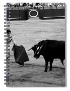 Bullfighting 22b Spiral Notebook