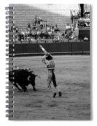 Bullfighting 36b Spiral Notebook