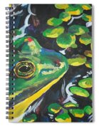 Bullfrog Spiral Notebook