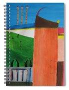 Bullring - Plaza De Toro. Spiral Notebook