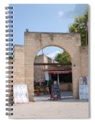 Bullring Entrance In Alcudia Spiral Notebook