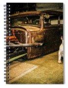 Bull's Spiral Notebook