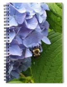 Bumble Bee Blues Spiral Notebook
