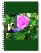 Bumble Bee Flying Away  Spiral Notebook