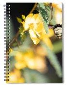 Bumblebee Heading Into Work Spiral Notebook