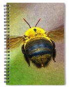 Bumblebees Flight Spiral Notebook