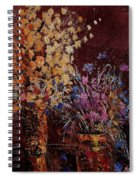 Bunch Of Dried Flowers  Spiral Notebook