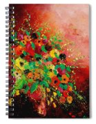 Bunch Of Flowers 0507 Spiral Notebook