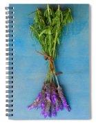 Bunch Of Lavender Spiral Notebook