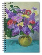 Bunch Of Spring Flowers Spiral Notebook
