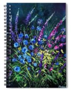 Bunch Of Wild Flowers Spiral Notebook