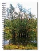 Bundek Park Zagreb #3 Spiral Notebook