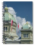 Bundeshaus The Federal Palace Spiral Notebook