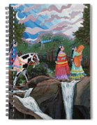 Bundle Moon II Spiral Notebook